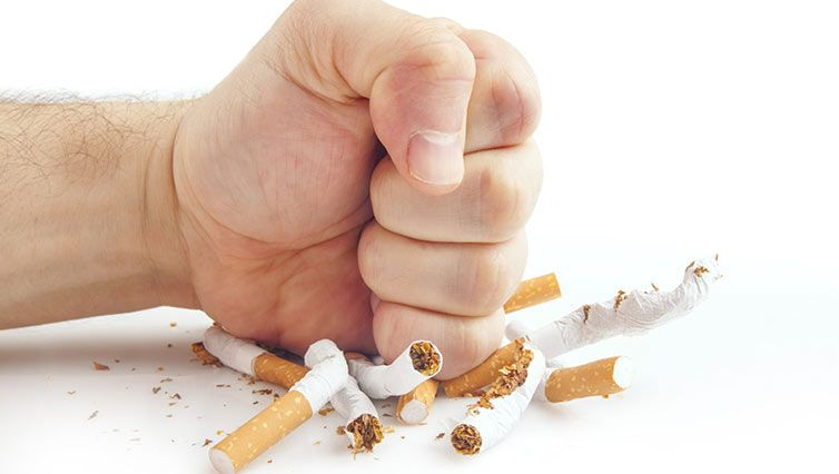 Quit smoking therapy
